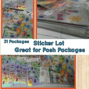 Other - Large Sticker Lot